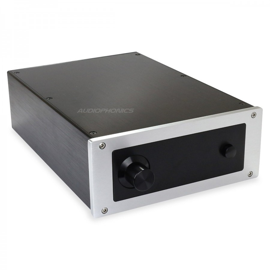 Diy amplifier 100 aluminium chassis 311x220x90mm for Chassis aluminium