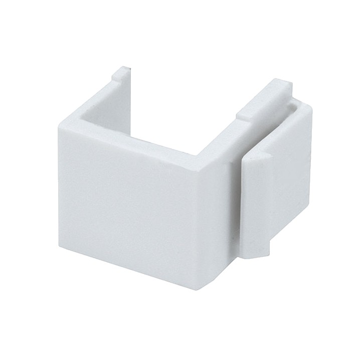 Keystone blank blank insert for wall plate x10 - Plaque adhesive murale ...