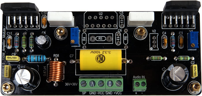 2 lm3886 btl advice diyaudiothank\u0027s, and sorry for mistake, yes i meant parallel like this pa100 diy 2x lm3886 in parallel gainclone audio amplifier so, do you know this kit