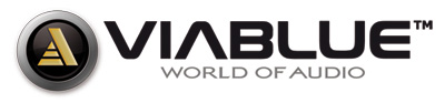 ViaBlue logo - World of audio