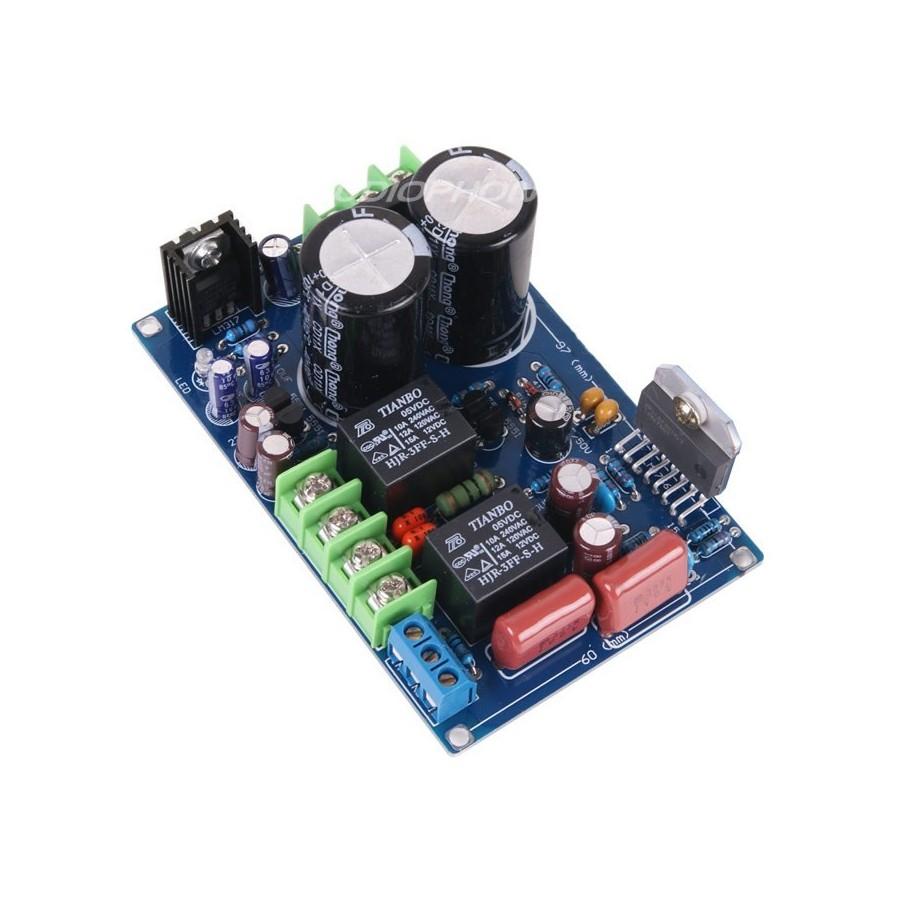 Lj Lm4766t Deluxe Stereo Amplifier Module 2x 30w 8 Ohms Audiophonics Led Audio Vu Meter Circuit Electronic Diagram Schematic Lm4766 2 X