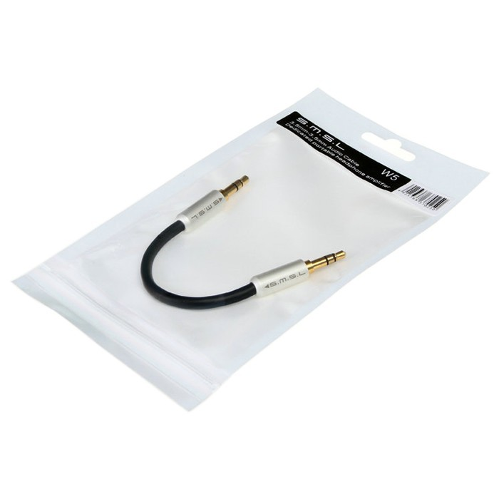 SMSL W5 Interconnect Jack 3.5mm Stereo Cable OFC Oyaide (Unit)