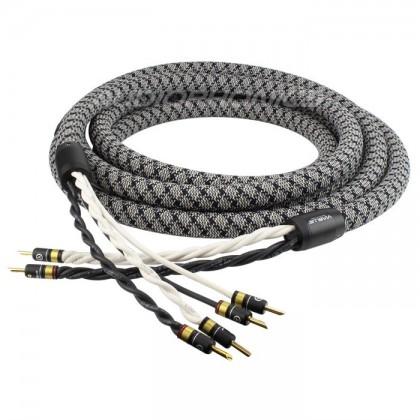VIABLUE SC-6 Bi-wiring speakers cables 3m (Pair) - Audiophonics