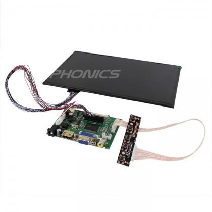 "Audiophonics Kit screen LCD 10.1"" 720p VGA / COMPOSITE / HDMI"