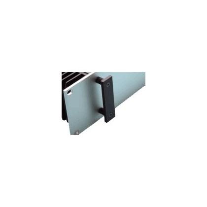 HIFI 2000 Poignées rectangulaires 2U Noir (La paire)