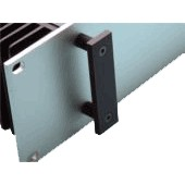 HIFI 2000 2U Rectangular Handles Black (Pair)