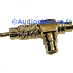RCA Adapter Y 2 Females to 1 Male