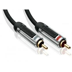 PROFIGOLD PROA4200 Câble de Modulation RCA-RCA Stéréo OFC 0.5m
