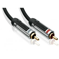 PROFIGOLD PROA4200 Interconnect Stereo Cinch / RCA Cable OFC 0.5m