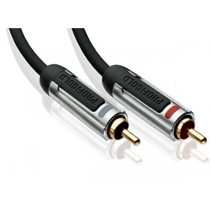 PROFIGOLD PROA4202 RCA Cable Stereo 2.0m