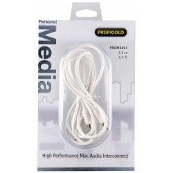 PROFIGOLD PROM3402 Câble de modulation Jack 3.5 vers 2 RCA OFC 2m