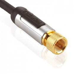 PROFIGOLD PROV9010 Câble coaxial numérique Antenne / Satellite Haute performance 10m