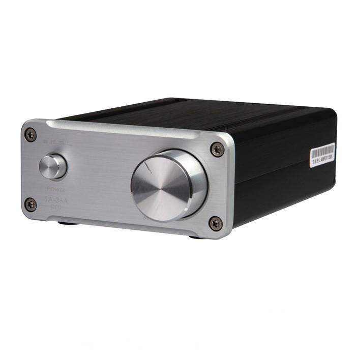 SMSL SA-36A Pro Digital Amplifier TPA3118 Class D 2x 20W / 8 Ohm Silver