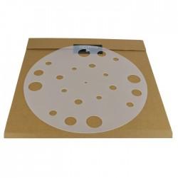 1877 PHONO Rubber Mat Couvre plateau / Support absorbant pour vinyles