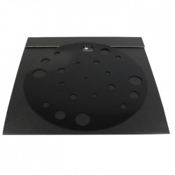 1877 PHONO Rubber Mat Silicone turntable record Support Black