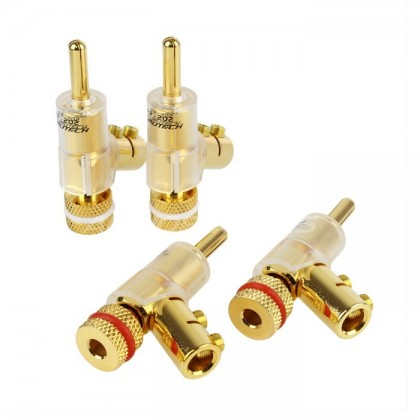 FURUTECH FP-202 Banana Plug Gold Ø 6mm (Set x4)