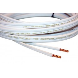 Van Den Hul THE SNOWLINE Silver plated OFC Speakers Cable 14 AWG 2x1.97mm²