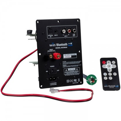 Dayton Audio MCWA60 Class D Plate Amplifier Wi-Fi Bluetooth 4.0 aptX 60W