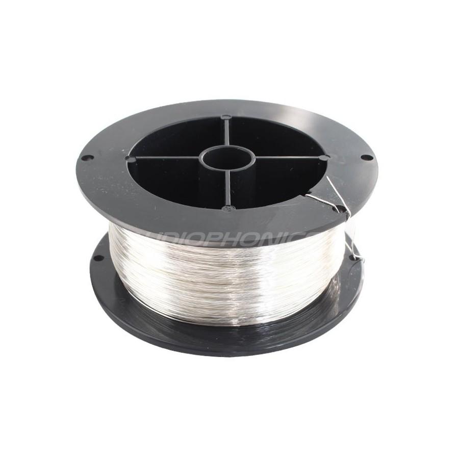 ELECAUDIO Thread Pure Silver 99.999% Ø 0.5mm - Audiophonics