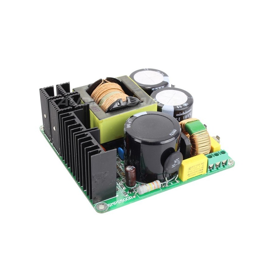 Smps500r Switching Power Supply Module 500w 65v Audiophonics Transformerless 24vdc 120v Ac And 230v Electrical