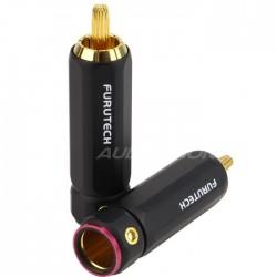 Furutech FP-101 Gold Connecteurs RCA Ø 9.2mm (La paire)
