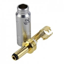 ELECAUDIO DC-2.1G Gold plated connector Jack DC 5.5/2.1mm