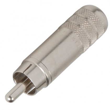 Switchcraft 3502A RCA Plug Nickel Plated Ø 7.2mm (Unité)