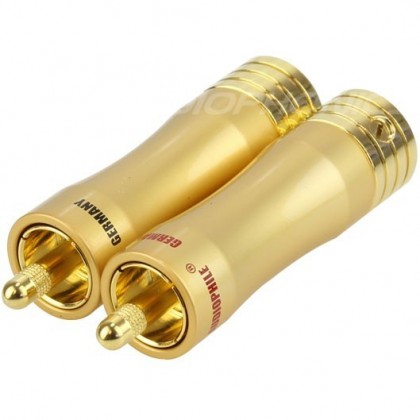 Yarbo RCA-050 RCA Plug Gold Plated 24k Ø 8mm (La paire)