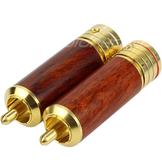 W&M Audio CS-306WDG RCA Plug Gold Plated Ø 8.2mm (La paire)