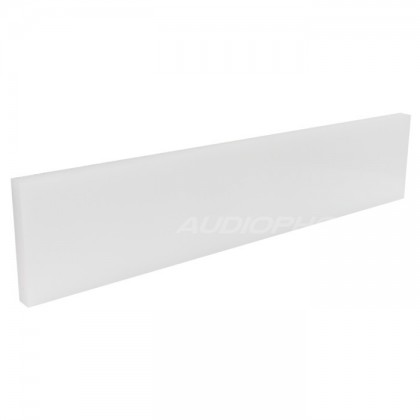 White PTFE plate for DIY box / case 450x96x15mm