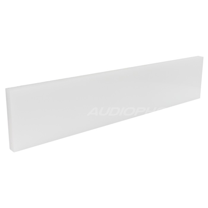 Plaque HDPE blanche 450x96x15mm