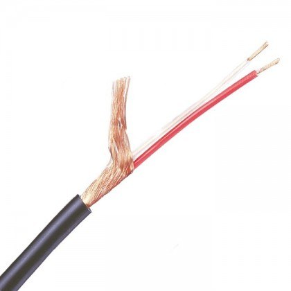 MOGAMI 2552 Balanced micro Superflexible Shielded cable 2x0.14mm² Ø 5mm