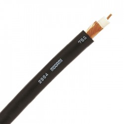 MOGAMI 2964 Câble Coaxial 75 Ohm 0.23mm² Ø4.8mm