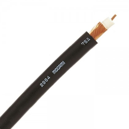 MOGAMI 2964 Coaxial cable 75 Ohm 0.23mm² Ø 4.8mm