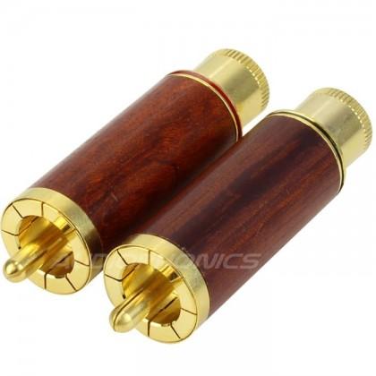 W&M Audio RCA Plug Gold Plated Ø 8.2mm (La paire)