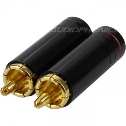 W&M Audio Connecteurs RCA à souder Ø 8.5mm (La paire)