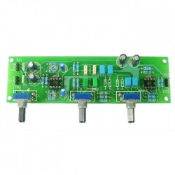 LITE Audio Preamp / Attenuation tone board Kit DIP8