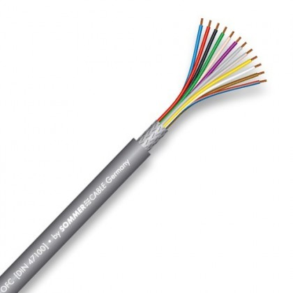 SOMMERCABLE CONTROL FLEX I2S transfert Cable 2x0.5mm² Ø 5.5mm