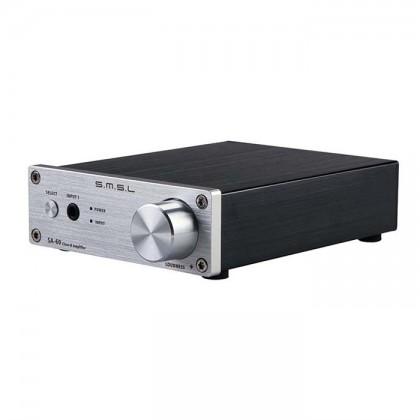 SMSL SA-60 Amplificateur numérique TPA3116 Class D 2x 55W 8 Ohm Silver