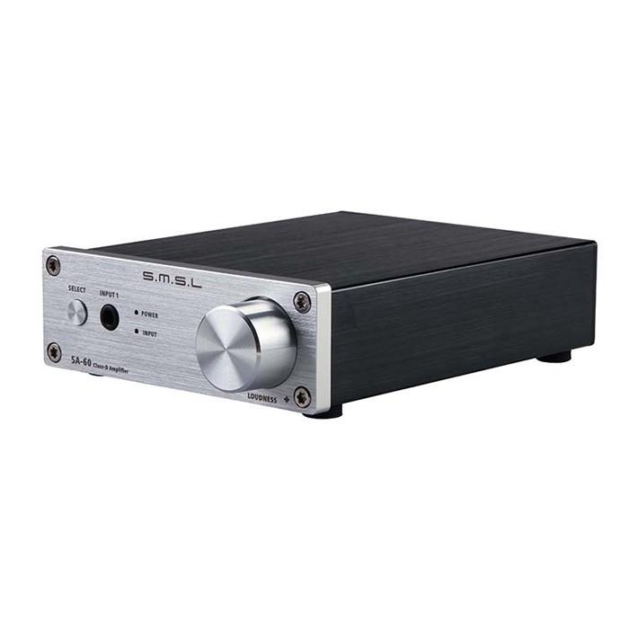 SMSL SA-60 Amplificateur numérique TPA3116 Class D 2x 55W / 8 Ohm Silver