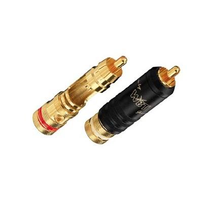 WBT-0144 Connecteurs RCA Midline à souder (La paire)
