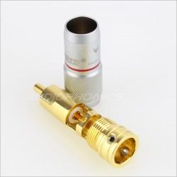 EIZZ EZ-203 Gold plated Te Copper Cinch RCA Copper (Set x4)