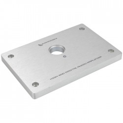 Audiophonics Aluminium front for DIY Amplifier 134x90x10mm
