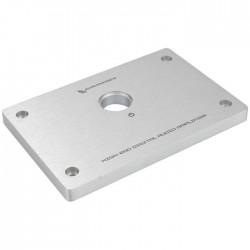 AUDIOPHONICS Facade Aluminium pour Amplificateur DIY 134x90x10mm