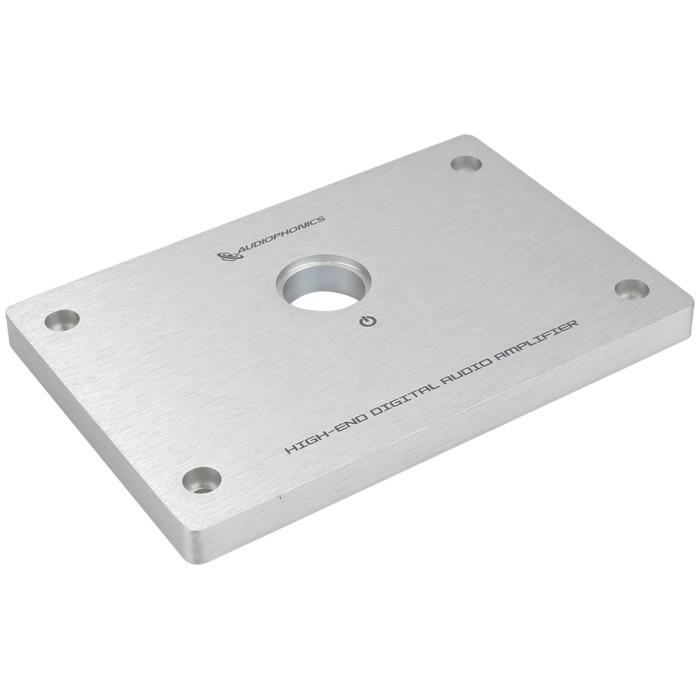 AUDIOPHONICS Facade Aluminium pour Amplificateur DIY GX183 134x90x10mm