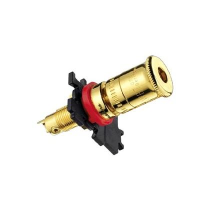 WBT-0730.11 Borniers pour haut parleur polissage Or (La paire)