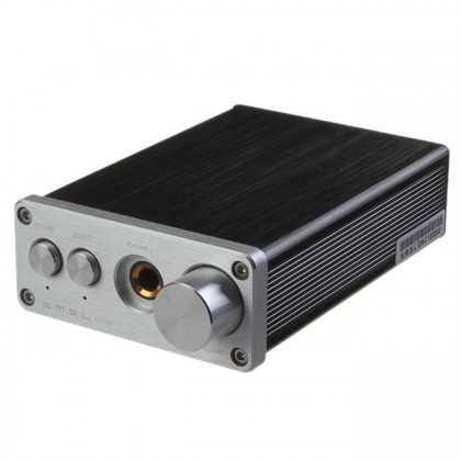 SMSL SD-793 2 DAC PCM1793 24bit 96kHz Coaxial S/PDIF Optical Toslink Silver