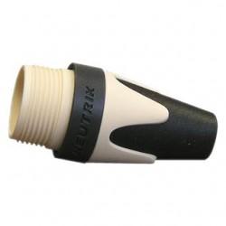 Neutrik BXX9 Capuchon code couleur Blanc pour connecteur XLR MXX / FXX Ø 8mm