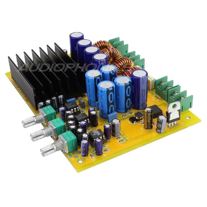 MA-TA03 Class D Amplifier 2.1 board TAS5630B 2x 150W + 1x 300W / 4 Ohm