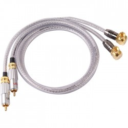 SOMMERCABLE CORONA HI-CM13/CMA01 Câble de Modulation RCA 1m